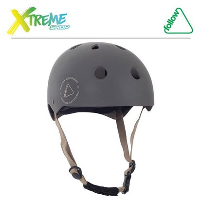 Kask Follow SAFETY FIRST HELMET Grey 2019