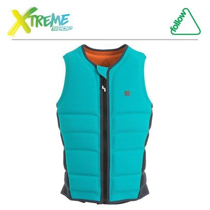 Kamizelka Follow STOW LADIES JACKET Aqua 2019 1