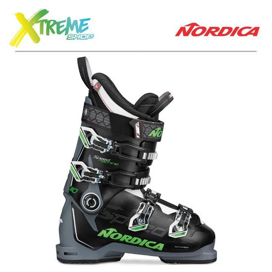 Buty narciarskie Nordica SPEEDMACHINE 110 2020 Black/Grey/Green