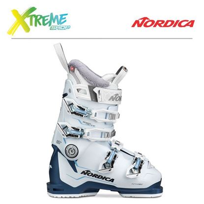 Buty narciarskie Nordica SPEEDMACHINE 85 W 2020 White/Blue/Light Blue