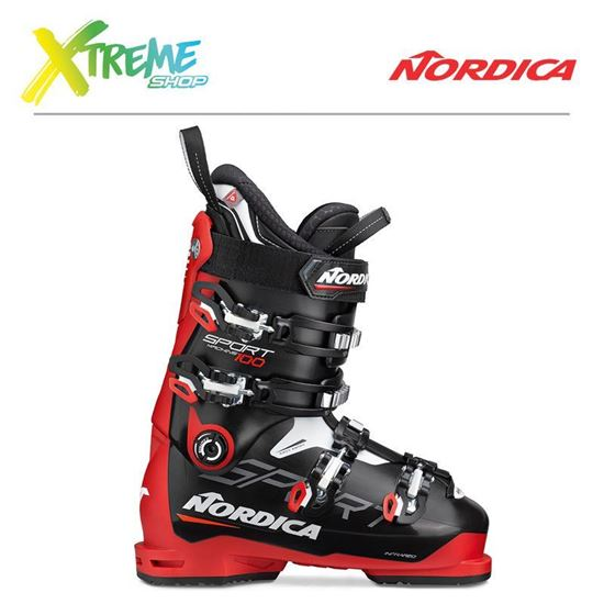 Buty narciarskie Nordica SPORTMACHINE 100 2020 Black/Red/White