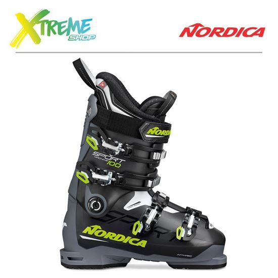 Buty narciarskie Nordica SPORTMACHINE 100 2020 Anthracite/Yellow/White