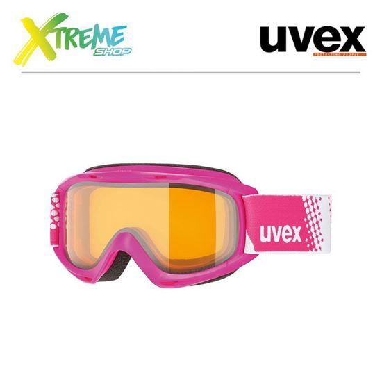 Gogle UVEX SLIDER LGL Pink