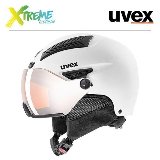 Kask Uvex HLMT 600 VISOR White Mat