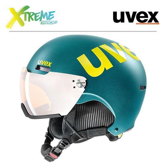 Kask Uvex HLMT 500 VISOR Deep Emerald Mat