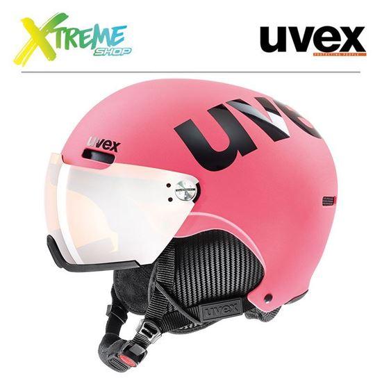 Kask Uvex HLMT 500 VISOR Pink Mat