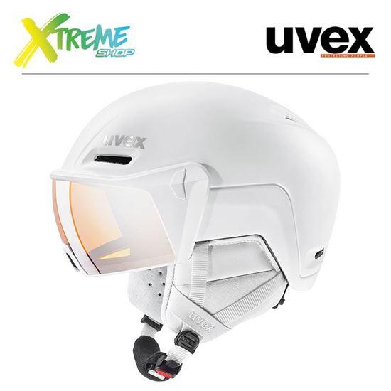 Kask Uvex HLMT 700 VISOR White Mat