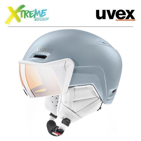 Kask Uvex HLMT 700 VISOR Dust Blue Mat