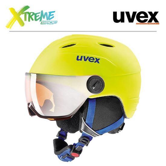 Kask Uvex JUNIOR VISOR PRO Neon Yellow Mat