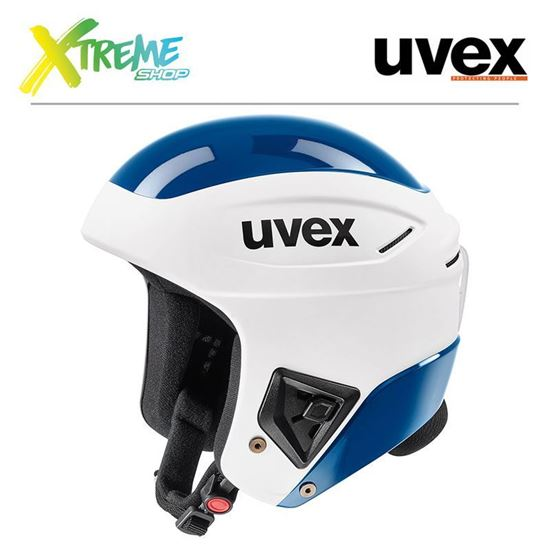 Kask Uvex RACE+ White-Blue