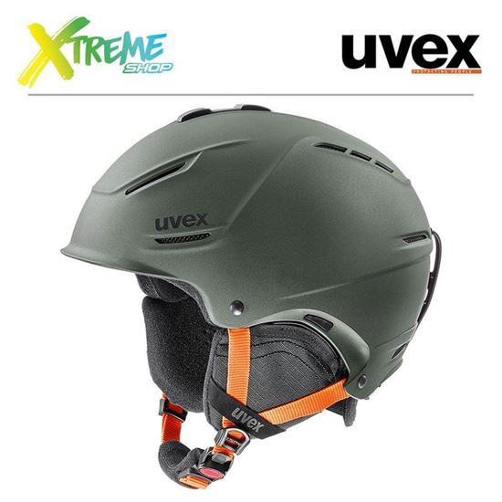Kask Uvex P1us 2.0 Olive Mat