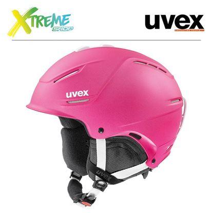 Kask Uvex P1us 2.0 Pink Met