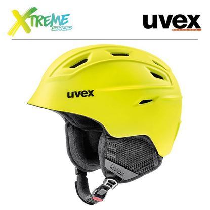 Kask Uvex FIERCE Yellow Mat