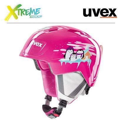 Kask Uvex MANIC Pink Penguin