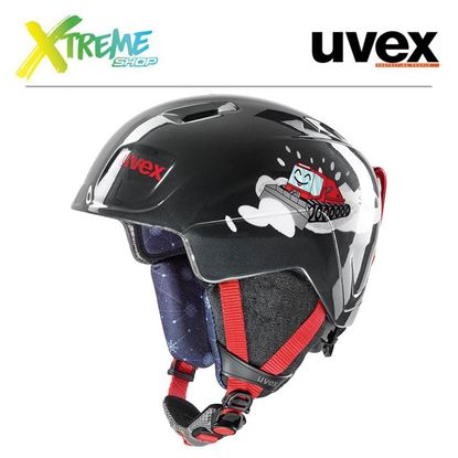 Kask Uvex MANIC Black Caterpillar