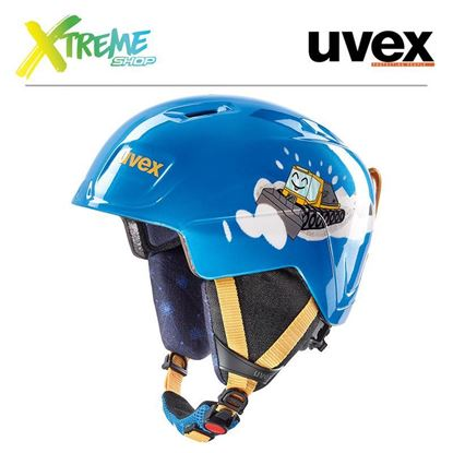 Kask Uvex MANIC Blue Caterpillar