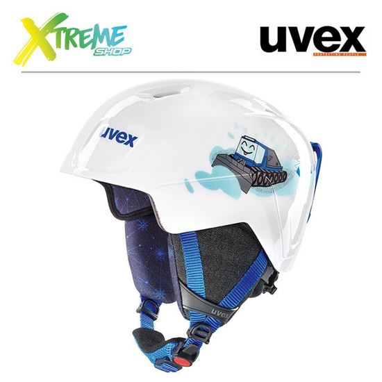 Kask Uvex MANIC White Caterpillar