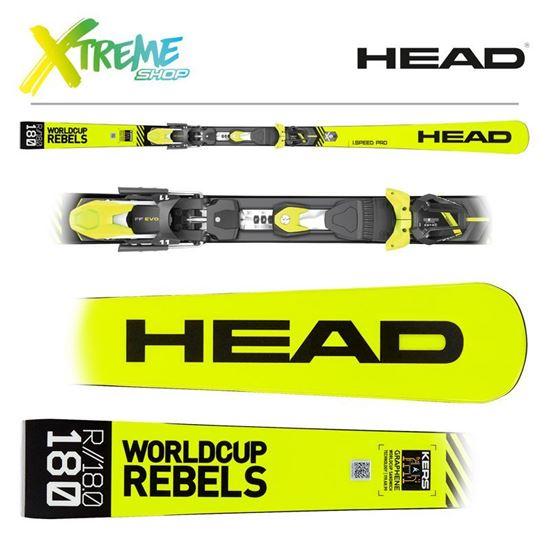 Narty Head WORLDCUP REBELS I.SPEED PRO 2020 + Wiązania Head FreeFlex EVO 11