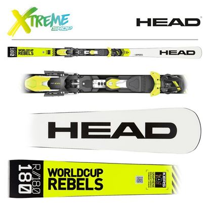 Narty Head WORLDCUP REBELS I.SPEED 2020 + Wiązania Head FreeFlex EVO 11