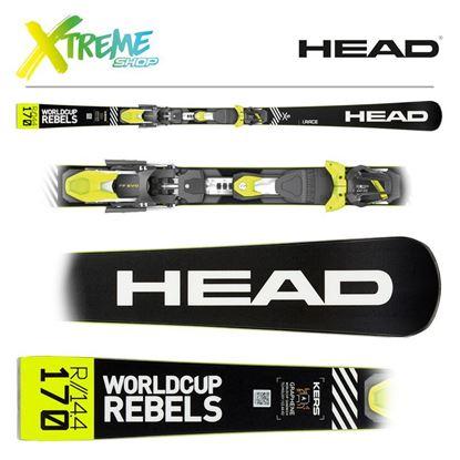 Narty Head WORLDCUP REBELS I.RACE 2020 + Wiązania Head FreeFlex EVO 11