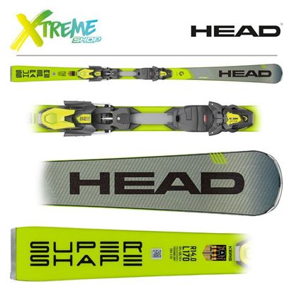 Narty Head SUPERSHAPE I.SPEED 2020 + Wiązania Head PRD 12