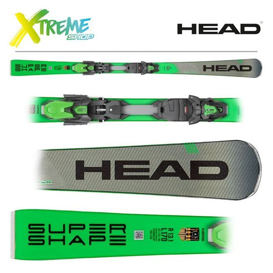 Narty Head SUPERSHAPE I.MAGNUM 2020 + Wiązania Head PRD 12