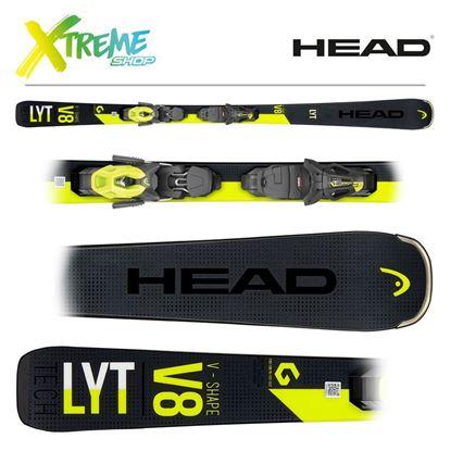 Narty Head V-SHAPE V8 2020 + Wiązania Head PR 11
