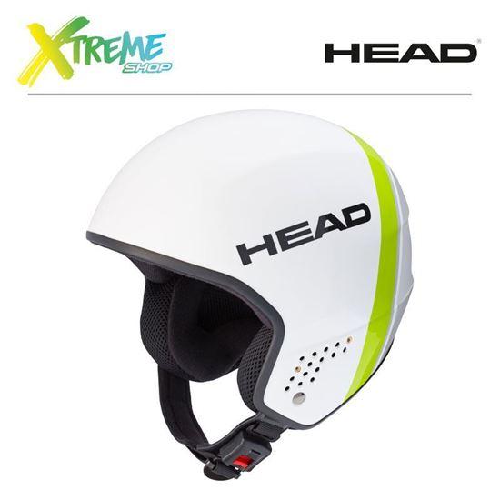 Kask Head STIVOT RACE Carbon White/Grey Front