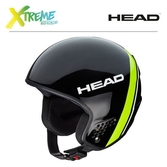 Kask Head STIVOT RACE Carbon Black/Lime Front