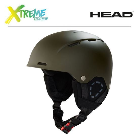 Kask Head TREX Olive Front