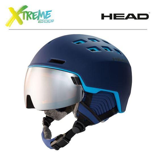 Kask Head RADAR Blue/Sky Front