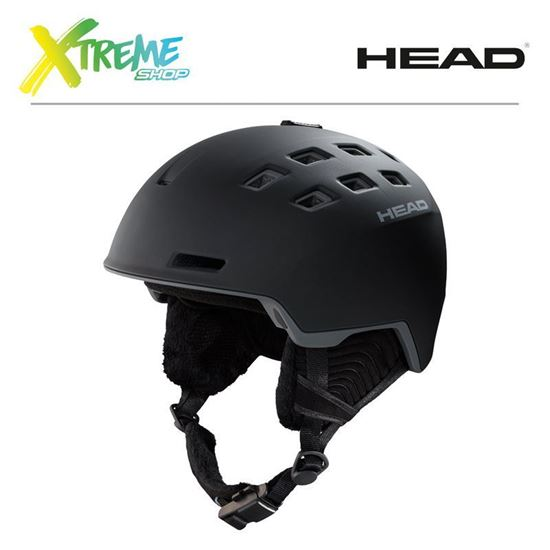 Kask Head REV Black Front