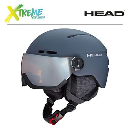 Kask Head KNIGHT PRO Anthracite Front
