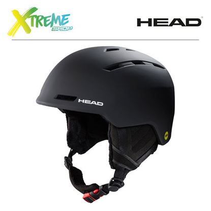 Kask Head VICO MIPS Black Front
