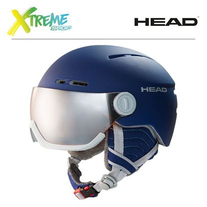 Kask Head QUEEN Nightblue Front