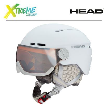 Kask Head QUEEN White