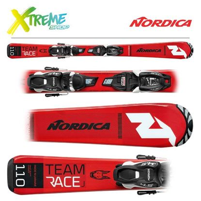 Narty Nordica TEAM J RACE FDT 2020 + Wiązania JR 7.0 FDT