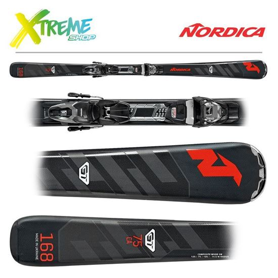 Narty Nordica GT 75 FDT 2020 + Wiązania TP Compact 10 FDT
