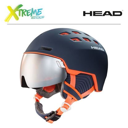 Kask Head RACHEL Blue/Salmon Front