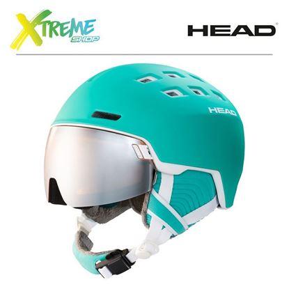 Kask Head RACHEL Turquoise Front