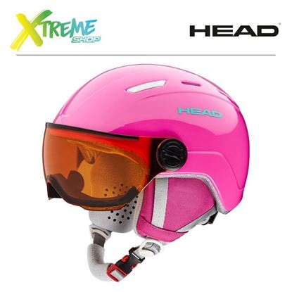 Kask Head MAJA VISOR Pink Front
