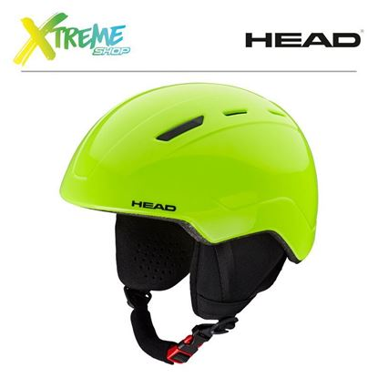 Kask Head MOJO Lime Front