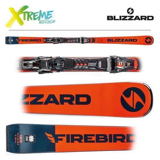 Narty Blizzard FIREBIRD WRC 2020 + Wiązania XCELL 12 DEMO