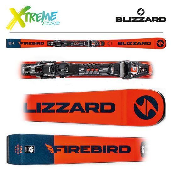 Narty Blizzard FIREBIRD HRC 2020 + Wiązania XCELL 12 DEMO