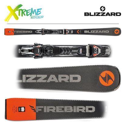 Narty Blizzard FIREBIRD COMPETITION 76 2020 + Wiązania TPX 12 DEMO