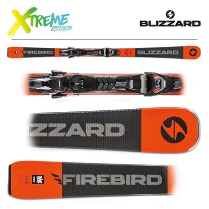 Narty Blizzard FIREBIRD RACE TI 2020 + Wiązania TPX 12 DEMO