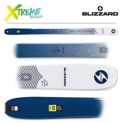 Narty Blizzard ZERO G 85 2020 Ice/Blue