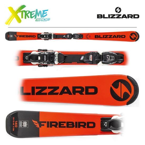 Narty Blizzard FIREBIRD RC JR 2020 + Wiązania FDT JR 7
