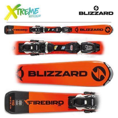 Narty Blizzard FIREBIRD JR 2020 + Wiązania FDT JR 4.5