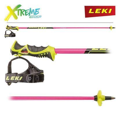 Kije narciarskie Leki VENOM SL PINK 6406708